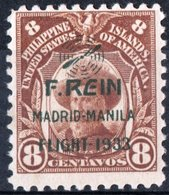 FILIPPINE, PHILIPPINES, POSTA AEREA, AIRMAIL, COMM., MADRID-MANILA FLIGHT, 1933, NUOVO (MNH**) Michel 342   Scott C21 - Filipinas