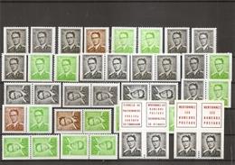 Belgique - Carnets ( Variations Complètes Des Carnets 3 à 7 XXX -MNH) - Booklets 1953-....