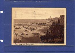 ##(DAN187/1)-BARI - Lungo Mare Nazario Sauro - Formato Grande - Spedita In Fermo Posta 1942- Tassata - Bari