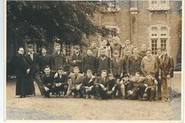 CHIMAY ; SUPERBE CARTE PHOTO - Collège St-Joseph - Classe 5ème Moderne 1962-1963 - Abbé Empain - Chimay