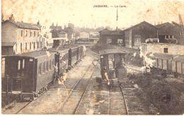 Jassans La Gare (carte Avec Des Manques Cf Scan) - Autres Communes