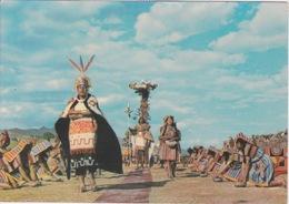 PEROU - CUZCO INTI RAYMI - VOIR CACHET AU VERSO - MARCHE FETE  TRADITIONNELLE - Pérou