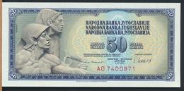 °°° JUGOSLAVIA 50 DINARA 1981 UNC °°° - Jugoslavia