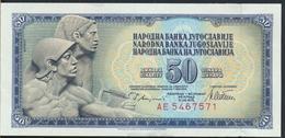 °°° JUGOSLAVIA 50 DINARA 1978 AUNC °°° - Jugoslavia