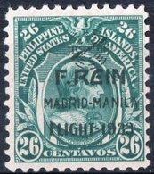 FILIPPINE, PHILIPPINES, POSTA AEREA, AIRMAIL, COMM., MADRID-MANILA FLIGHT, 1933, NUOVO (MNH**) Michel 347   Scott C44 - Filippine