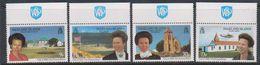 Falkland Islands 1996 Royal Visit 4v Logo Walsall Printers In Margin) ** Mnh (39808D) - Falklandeilanden
