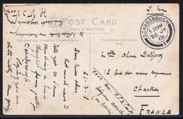 MILITARY SERVICE 1918 ** FROM BELGIAN WAR PILOT ( Capt. Van De Voorde ) IN SCARBOROUGH ** WAS SENT To FRANCE - Guerre 1914-18