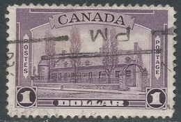 Canada. 1937-38 KGVI Definitives. $1 Used. SG 367 - 1937-1952 Reign Of George VI