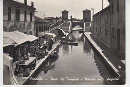 """A648 / ITALIE / ITALIA / COMACCHIO / Marché Aux Anguilles Et Pont Des """"Trepponti"""" - Ferrara"""