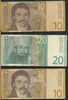 °°° JUGOSLAVIA 10 20 DINARA 2000 °°° - Jugoslavia