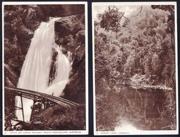SERIE OF 4 OLD TUCK'S AUSTRALIAN GOVERNMENT CARDS WITH VIEWS OF AUSTRALIAN NATURE - Non Classés