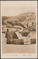 Entrance To Tutankhamen's Tomb, Valley Of The Kings, Luxor, C.1930s - Bruce Co RP Postcard - Luxor