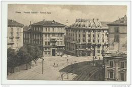 MILANO PIAZZALE VENEZIA E KURSAAL DIANA 1923 VIAGGIATA FP - Milano (Milan)