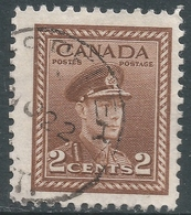 Canada. 1942-48 War Effort. 2c Used. SG 376 - 1937-1952 Reign Of George VI