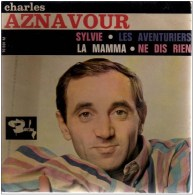 Charles Aznavour -Sylvie - 45 Rpm - Maxi-Single