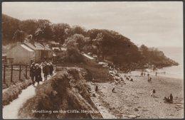 Strolling On The Cliffs, Heysham, Lancashire, C.1920s - RP Postcard - England