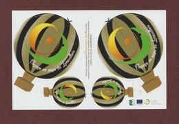 Découpage De 4 Ballons - Championnat De France 2018 MONTGOLFIERES - Voyage En Pays Du LUNEVILLOIS. 54 - Voir 2 Scannes - Loisirs Créatifs