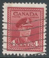 Canada. 1942-48 War Effort. 4c Red Used. SG 380 - 1937-1952 Reign Of George VI