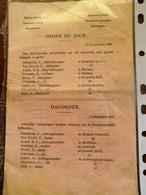 Algemeene Dienst  Met Zegel CHEMIN  De  FER  De L état  - Direction De L'  Exploitation   BELGIQUE  1895 - Chemin De Fer