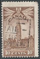 Canada. 1942-48 War Effort. 10c Used. SG 383 - 1937-1952 Reign Of George VI