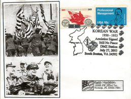 USA.Guerre De Corée. Armistice. Cinquantenaire De  L'armistice  Signé à Panmunjon. - Historia