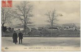 83.SAINT MAXIMIN. VUE GENERALE PRISE DE LA GARE - Saint-Maximin-la-Sainte-Baume