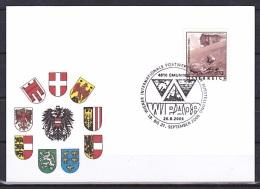 Austria/2004 - Tourism/Ferienland Osterreich - €0.13 - 'WIPA 08' - FDC