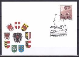 Austria/2004 - Tourism/Ferienland Osterreich - €0.13 - 'Styria 06, WIPA 08' - FDC