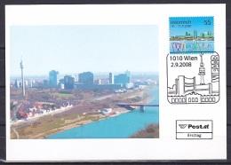 Austria/2008 - WIPA 08 - 55 C - FDC Postcard - FDC