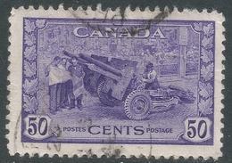 Canada. 1942-48 War Effort. 50c Used. SG 387 - 1937-1952 Reign Of George VI
