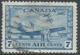 Canada. 1942-48 War Effort. 7c Air Used. SG 400 - 1937-1952 Reign Of George VI