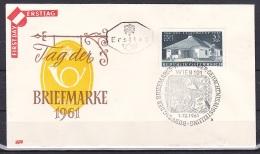 Austria/1961 - Stamp Day/Tag Der Briefmarke - 3 S - FDC - FDC