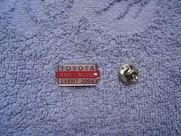 Pin Toyota Land Cruiser Event 2004 - Toyota