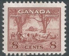 Canada. 1942-48 War Effort. 8c MH. SG 382 - 1937-1952 Reign Of George VI