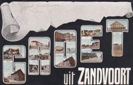 1851149Zandvoort, Groet Uit Zandvoort (poststempel 1906) - Zandvoort