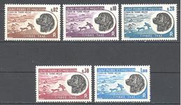 Saint Pierre Et Miquelon: Yvert Taxe N° 77/81**; MNH; Chien, Terre Neuve - Strafport