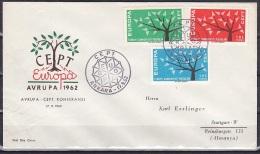 Turkey/1962 - Europa CEPT - Set - FDC - 1921-... Republik