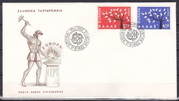 Greece/1962 - Europa CEPT - Set - FDC - FDC