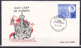 Gibralter/1966 - Our Lady Of Europa - Set - FDC - Gibraltar
