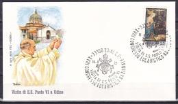 Italy/1970 - Christmas/Natale - 25 L - Cover 'XVIII CONGRESSO EUCARISTICO NAZIONALE 1972' - Italie