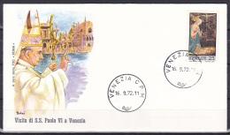 Italy/1970 - Christmas/Natale - 25 L - Cover 'VENEZIA C.P.M' - Italie