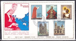 Vatican/1972 - Pope's Vist To Asia & Oceania/Viaggio Di Paolo VI In Asia Ed Australia - Set - FDC - FDC