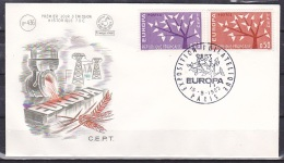 France/1962 - Europa CEPT - Set - FDC - FDC