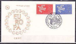 France/1961 - Europa CEPT - Set - FDC - FDC