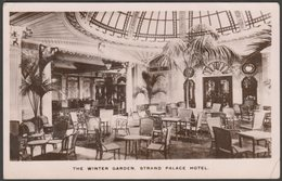The Winter Garden, Strand Palace Hotel, London, 1914 - Kingsway RP Postcard - Other