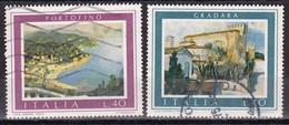 Repubblica Italiana, 1974 - Turistica - Nr.1264/1265 Usato° - 1946-.. Republiek