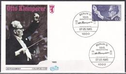 Berlin/1985 - Otto Klemperer - 60 Pf - FDC - FDC: Buste