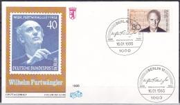 Berlin/1986 - Wilhelm Furtwangler - 80 Pf - FDC - [5] Berlijn