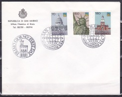 San Marino/1976 - American Revolution Bicentenary - Set - FDC - FDC