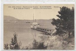 83.SAINT MANDRIER SUR MER.  ENTRE DE LA RADE DE TOULON - Saint-Mandrier-sur-Mer